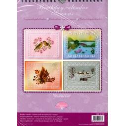 Купить Набор схем для парчмента Pergamano Календарь