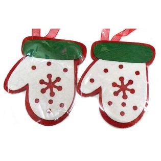 Купить Набор подвесок декоративных Новогодняя сказка «Варежка»
