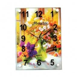 фото Часы настенные Marmiton «Два букета»