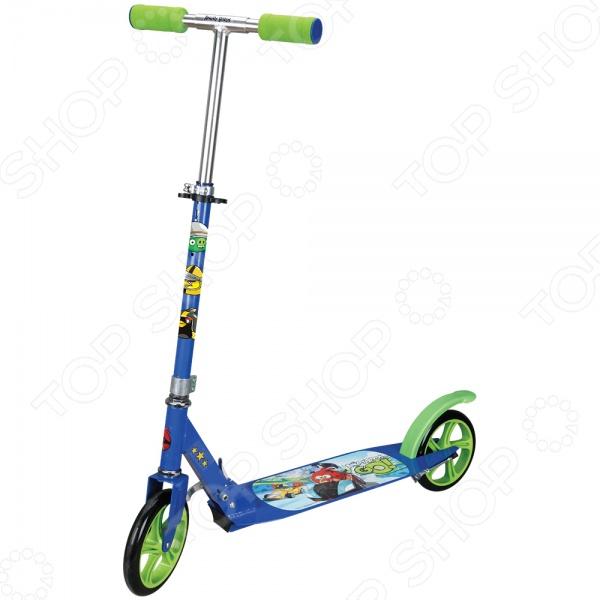 Самокат двухколесный 1 Toy Т57646 «Angry Birds» navigator велосипед двухколесный angry birds 12