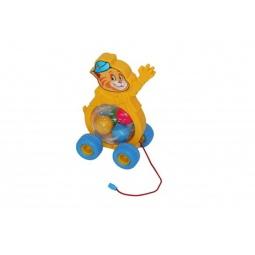 фото Каталка на веревочке для малыша Полесье «Котенок» 54456