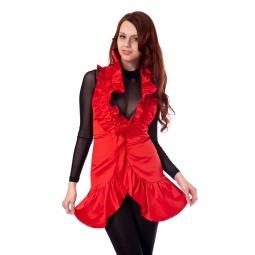фото Жилет Mondigo 9661. Цвет: красный. Размер одежды: 48