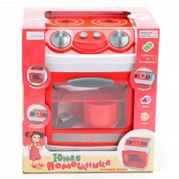 фото Плита портативная игрушечная Zhorya «Юная помощница» 1700211