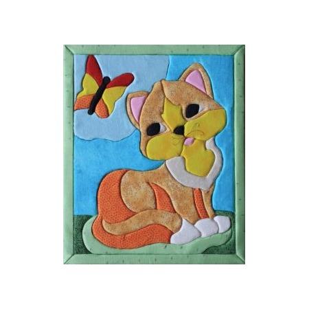 Купить Набор для творчества Волшебная мастерская «Кинусайга. Кошка»