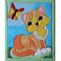 фото Набор для творчества Волшебная мастерская «Кинусайга. Кошка»