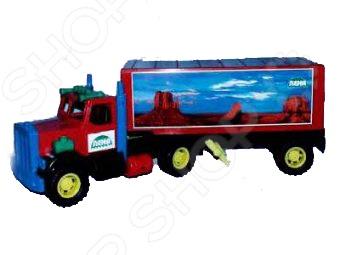 Машинка игрушечная Лена «Трейлер большой. Трак»
