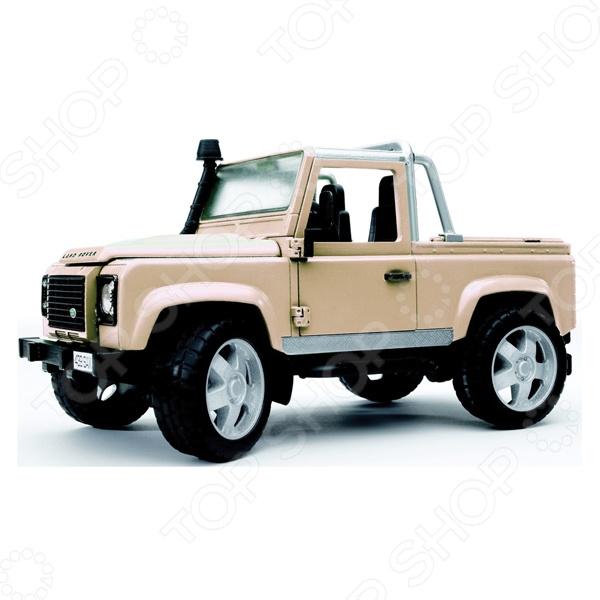 Внедорожник игрушечный Bruder Land Rover Defender руководящий насос range rover land rover 4 0 4 6 1999 2002 p38 oem qvb000050