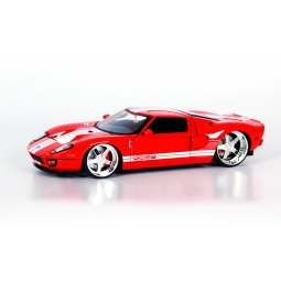 фото Модель автомобиля 1:24 Jada Toys 2005 Ford GT- Andrea Racing V. Цвет: красный