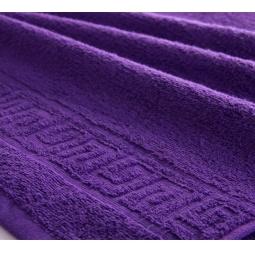 фото Полотенце махровое Asgabat Dokma Toplumy. Размер: 70х140 см. Цвет: фиолетовый