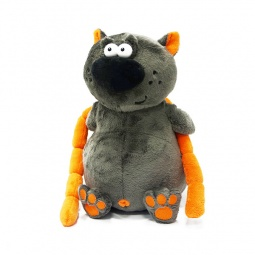Купить Мягкая игрушка ДуRашки «Котофей и сосиски»
