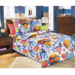 фото Детский комплект постельного белья Бамбино «Аэростат»