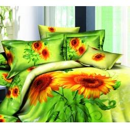 фото Комплект постельного белья с эффектом 3D Buenas Noches Podsolnuh. Евро
