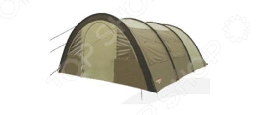 Палатка Campack Tent Urban Voyager 6Палатки<br>Палатка Campack Tent Urban Voyager 6 многофункциональная палатка для любителей спокойного кэмпинга и путешествий в большой команде. Палатку можно установить как базовый лагерь, медпункт, столовую или барак. Удобная и уютная модель с надежной конструкцией. Оснащена каркасом из фибергласса. Высокопрочное дно из армированного полиэтилена, не пропускает влагу и устойчиво к истиранию. Предусмотрены также дополнительные вентиляционные окна с противомоскитными сетками на боковой поверхности тента, которые дают отличный обзор и освещенность. Проклеенные швы также гарантируют герметичность, поэтому во время дождя вода не просочится внутрь.  Ткань тента: 190T P. Taffeta PU 3000MM.  Ткань палатки: 170T P. Taffeta MESH.  Ткань дна: Tarpauling.  Диаметр дуг: 12 мм.<br>
