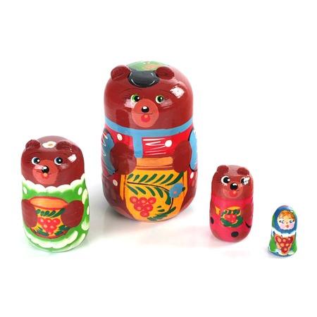 Купить Матрешка БЭМБИ «Три медведя»