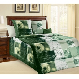 Купить Комплект постельного белья ТексДизайн «Одуванчик». 1,5-спальный