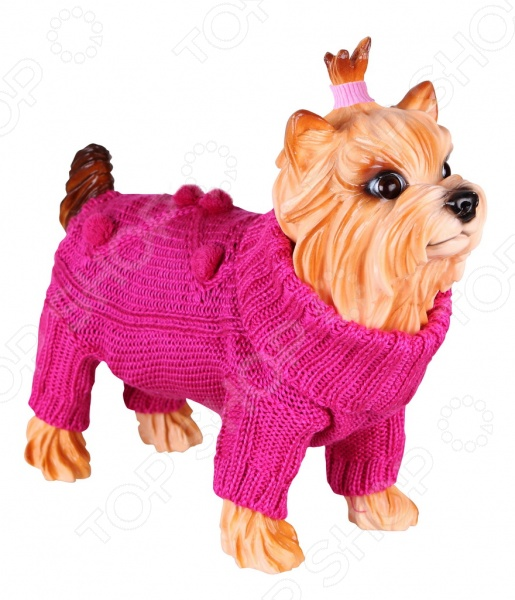 Свитер для собак DEZZIE 562524 свитер попона для собак dezzie 563560