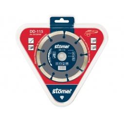 фото Диск алмазный Stomer для сухой резки. Модель: DD-115. Размер: 115 мм
