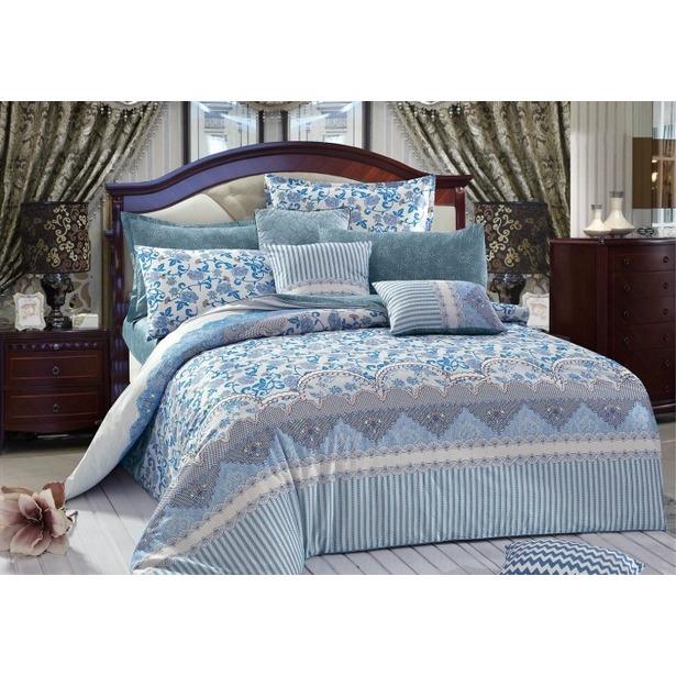 фото Комплект постельного белья Primavelle Silvery. 1,5-спальный. Размер наволочки: 52х74 см — 2 шт