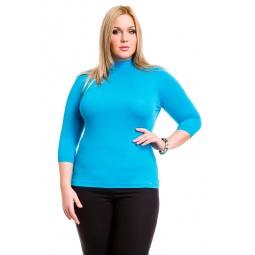 фото Водолазка Mondigo XL 7010. Цвет: бирюзовый. Размер одежды: 48