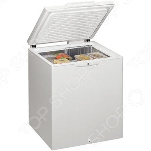 Морозильник-ларь Whirlpool WH 2000 морозильный ларь whirlpool whm 3111 белый