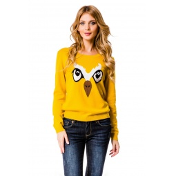 фото Джемпер Mondigo 10025. Цвет: желтый. Размер одежды: 46