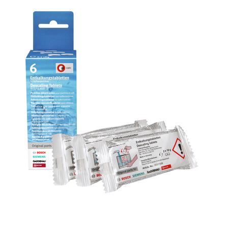 Купить Таблетки чистящие для кофемашин от накипи Bosch 311556