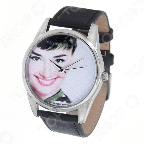 Часы наручные Mitya Veselkov «Одри улыбается» MV-114 часы наручные mitya veselkov часы mitya veselkov одри на белом курит арт mv 38