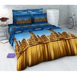 Купить Комплект постельного белья Василиса «Ночной город». 1,5-спальный