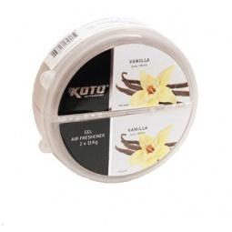 фото Ароматизатор под сиденье двойной Koto DUAL Fresh. Модель: Vanilla