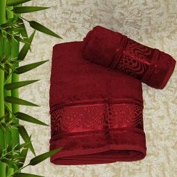 фото Полотенце махровое Mariposa Aqua red. Размер полотенца: 70х140 см