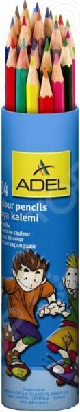 Набор карандашей цветных ADEL Colour 211-2360-003