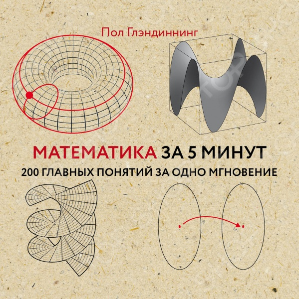 Математика за 5 минутФизико-математические науки<br>В нашей книге в краткой форме мы расскажем о многообразном мире математики, о числах и цифрах, об их происхождении, разных системах счисления.<br>