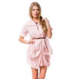 фото Туника Mondigo 9627. Цвет: бледно-розовый. Размер одежды: 42