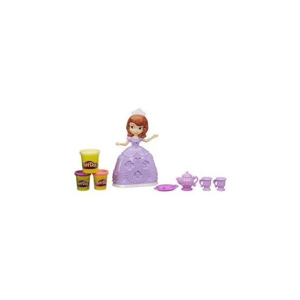 фото Набор игровой для лепки Play-Doh «Чайная церемония у принцессы Софии»