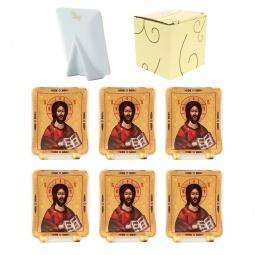 Купить Набор декоративных тарелок Elan Gallery «Иисус Христос»