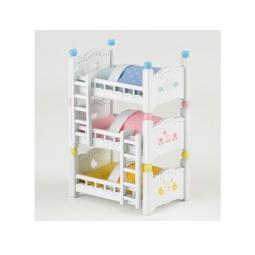 фото Игровой набор Sylvanian Families «Трехъярусная кровать»