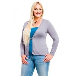 фото Жакет Mondigo XL 426. Цвет: серый. Размер одежды: 48