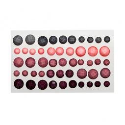 фото Набор камушков клеевых граненых ScrapBerry's Пастельные