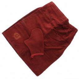 фото Комплект махровый Банные штучки для мужчин с вышивкой. В ассортименте
