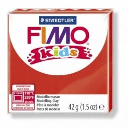 фото Глина полимерная для детей Fimo kids. Цвет: красный