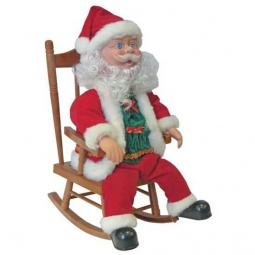 Купить Игрушка музыкальная «Дед Мороз в кресле-качалке»
