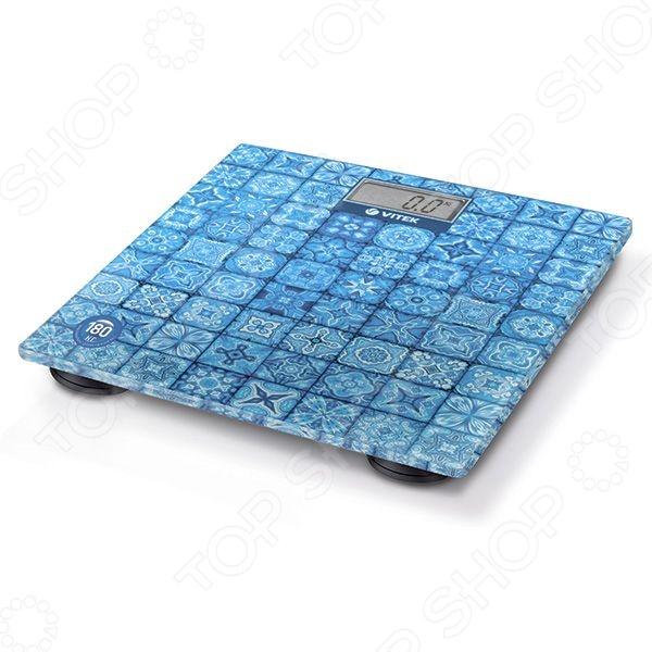 Весы Vitek VT-1952Весы<br>Весы Vitek VT-1952 это стильные электронные весы для каждого дома, предназначенные для точного взвешивания массы тела. Оснащены дисплеем для удобного считывания информации. Платформа весов сделана из стекла и выдерживает вес до 180 килограмм.<br>