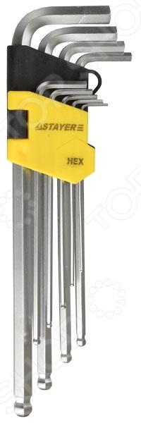 Набор ключей имбусовых длинных с шариком Stayer Master 2741-H9-2 свеча зажигания ngk 2741