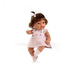 фото Кукла Arias «Брюнетка в бежевом платье»