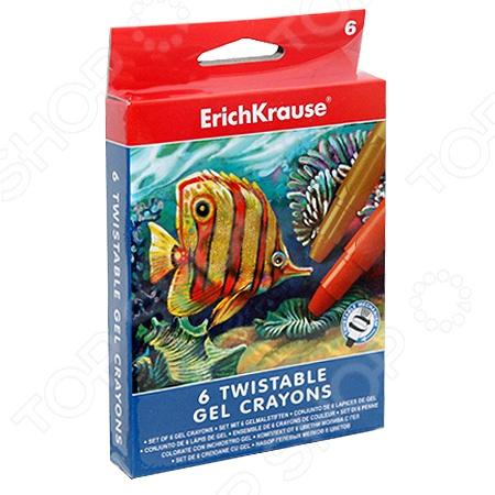Набор мелков гелевых Erich Krause Twist