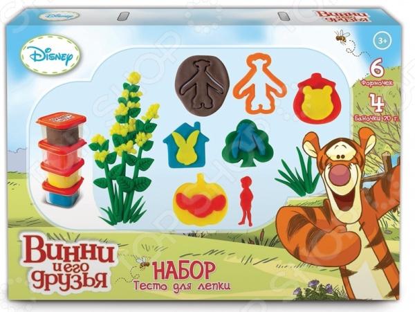 Набор теста для лепки 1 Toy «Winnie the Pooh» Т57457