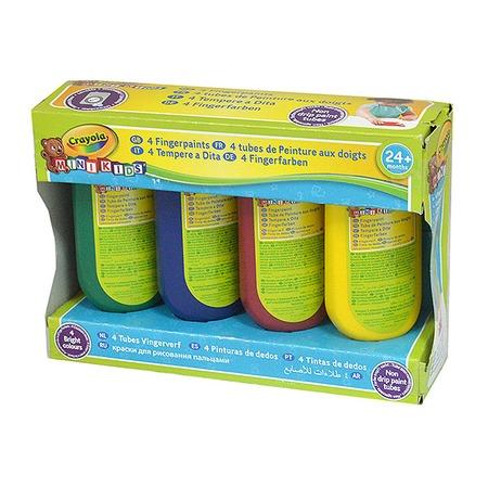 Купить Краски для рисования пальцами Crayola «Washable Finger Paints»