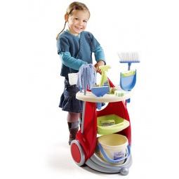 фото Игровой набор для девочки Smoby «Тележка для уборки»
