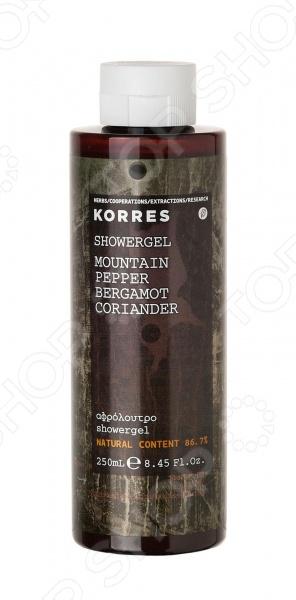 Гель для душа Korres «Горный перец» гель для душа korres shower gel mango