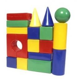 фото Набор кубиков Строим вместе «Строительная стена 18»
